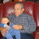 My Papito with my nephew.
