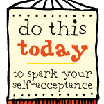 shine day 24: spark your self-acceptance with three small questions