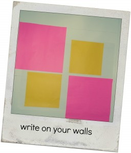 write on your walls