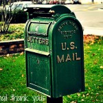 The Weekly Spark: Mail a thank you note