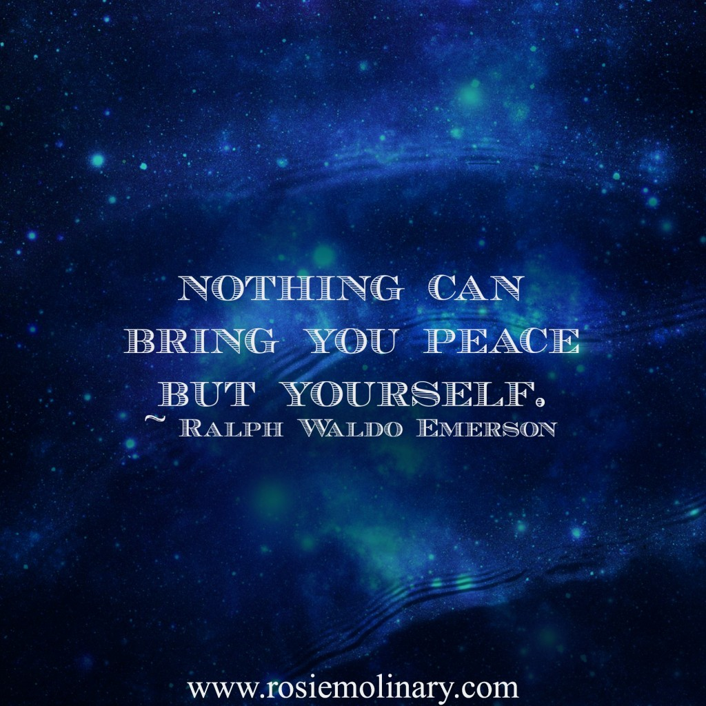 peace is in you