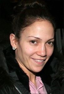 all natural Jennifer Lopez