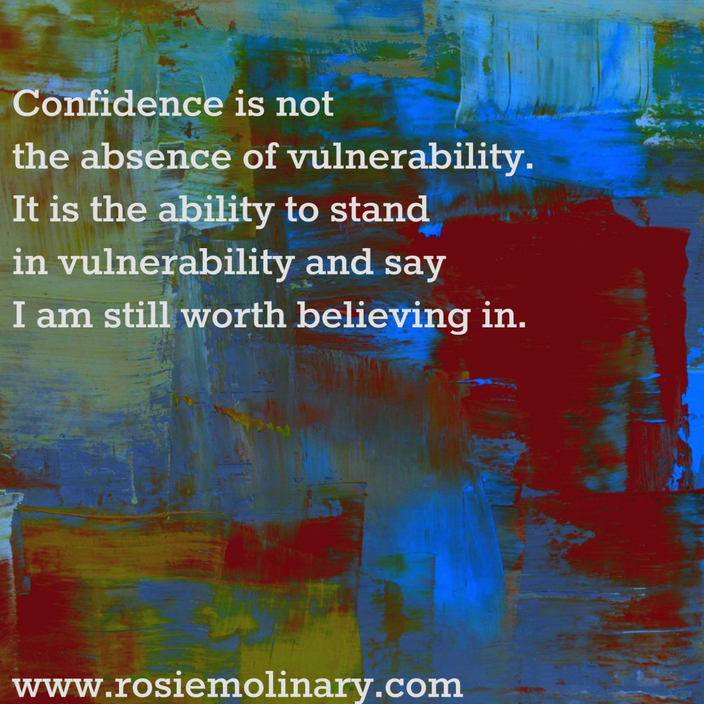 confidence and vulnerability