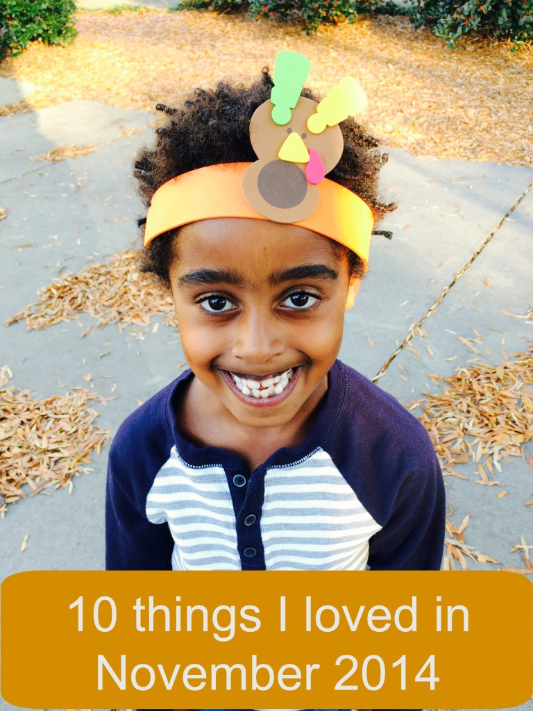10 things I loved in November 2014