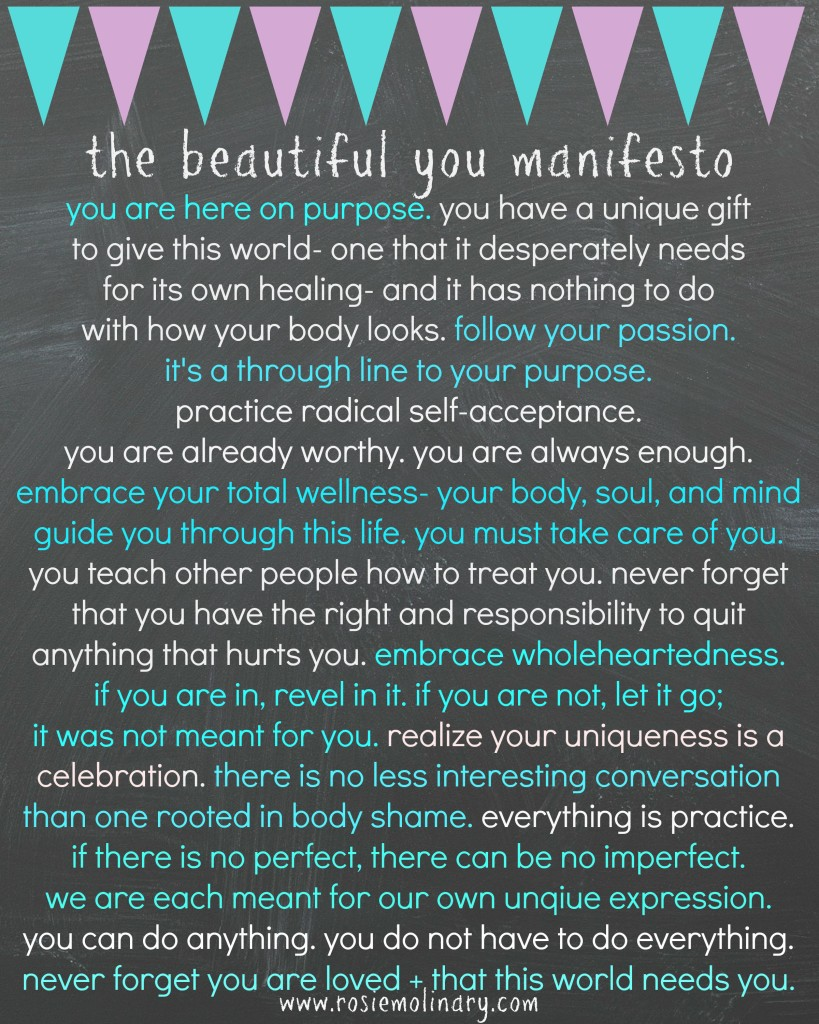 beautiful you manifesto final