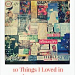10 Things I Loved in January 2015