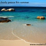 Practicing (Body) Peace This Summer