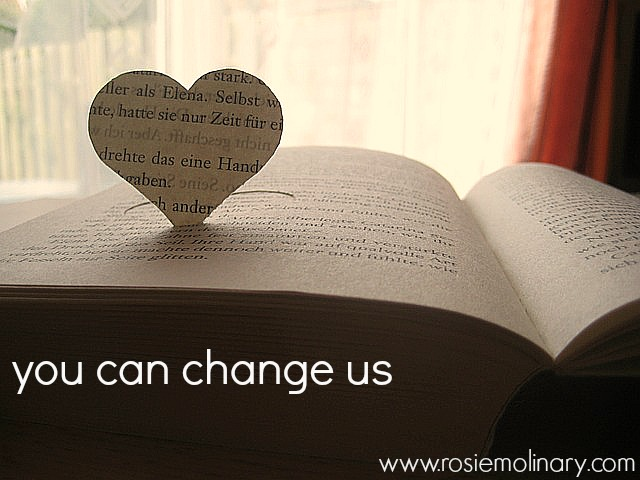 you can change us