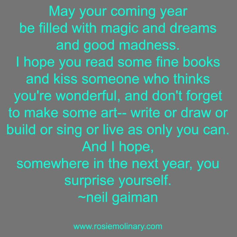 your-coming-year