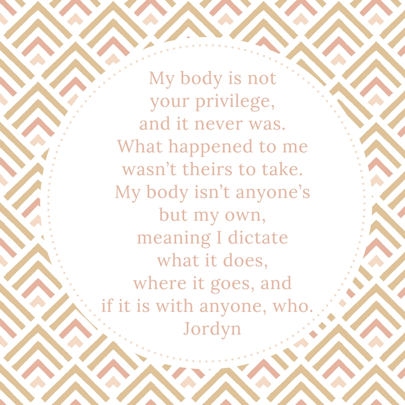 My body is not your privilege